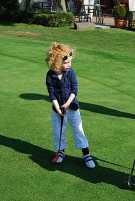 Das JÜNGSTE Golfclub – Mitglied im Golfclub Hamm
